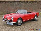 1961 Alfa Romeo Giulietta 1300 Spider I Love This Car A Family