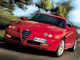 2003 Alfa Romeo Gtv The Alfa Romeo Range Line Up Is Pleted By Two