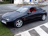Black Alfa Romeo Gtv Post 2003 With 3 2 V6 Engine Red Leather