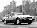 Alfa Romeo Gtv 6 2 5 Uk Spec 1980 1983 Wallpaper