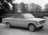 Fiat 124 Cabriolet C4 1966 Designed By Touring