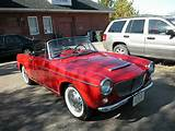 For Sale 1963 Fiat 1200 Convertible Spider Rare Car Restored By My