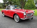 Fiat Convertible Model 1200 Cabriolet Sold 1962