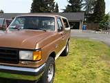 1989 Convertible Hard Top Suv Ford Bronco 4x4 Full Size Eddie Bauer On