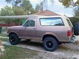 Bronco For Free Tires Are 285 R70s Bigfoots Custom 17in Rims Still