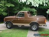 1988 Ford Bronco Mileage 1988 Ford Bronco Pictures Photos Videos