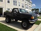 Find Used 1987 Ford Bronco Lifted With 37 Wheels In Millsboro