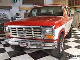 1986 Ford Bronco Xlt 4x4 Off Road Vehicle Pickup Truck Classic Vehicle