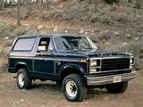 Ford Bronco 1980 1986
