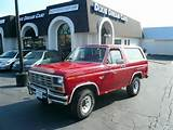 Stock 10083 Call Us About This Vehicle 1985 Ford Bronco Suv