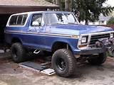 The Ford Bronco Is A Sport Utility Vehicle