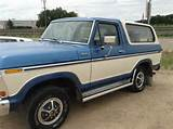 1978 Ford Bronco Rocky Ford 81067 0
