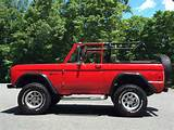 Autotrader Classics 1977 Ford Bronco Sport Utility Suv Red 8