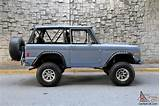 Restored 1977 Ford Bronco Early Bronco Highly Optioned High End