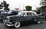 1953 Ford Crestline Hard Top Convertible Coupe White Over Black