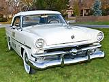 1953 Ford Crestline Convertible Indy 500 Pace Car 76b Race Racing