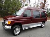 2006 Ford E 250 Tuscany Lowered Floor Wheelchair Conversion Van W