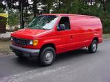 2006 Ford E 250 3 4 Ton Cargo Van With Bins V8 At Ac Used Ford E