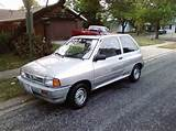 Festy90 S 1990 Ford Festiva L Hatchback 2d In Hull Il