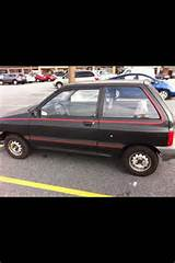 Picture Of 1988 Ford Festiva L Exterior