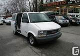 2005 Gmc Safari Cargo Van With Shelvings And Partition With A C