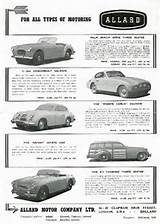 1952 Allard Ad For The Palm Beach 2 5 Litre Monte Carlo Safari And