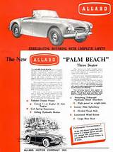 Allard Palm Beach 1952 3 Seater The New Allard Palm Beach Three