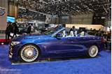 Alpina B4 Convertible Makes A First Appearance At Geneva Live Photos