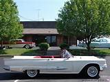 1958 Ford Thunderbird Convertible My First Car Except It Was Black