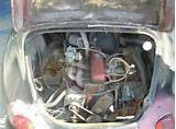 1957 Alpine Renault A106 Dauphine Pan For Sale Engine