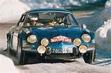 1973 Renault Alpine A110 1600s Rally