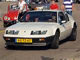 Description Alpine Renault A 310 V6 Dutch Licence Registration Rg Tz