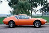 Renault Alpine A310 1973 Cars Coupe Orange Wallpaper Background