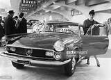 Transport Turin Italy 1959 The Fiat Abarth 2200 Coupe On A Display
