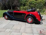 1948 Alvis Ta 14 Dhc Convertible Px For Sale