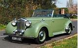 Making Of Alvis Ta14 Drophead Coupe Convertible Cars