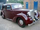 Buy Classic 1946 Alvis Ta14 Saloon Car S At Auction