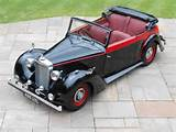 Alvis Ta 14 Three Position Drophead Coupe Convertible Px Sold 1948