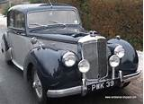 Car Model Alvis Tc 21 100 Release Year 1953