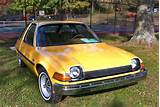 Description 1975 Amc Pacer Base Model Frontrightside