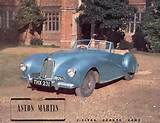 1949 Aston Martin 2 Litre Sports Car 6 Page Catalog