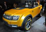 Land Rover Dc100 Sport Open Air Suv Sexy Yellow Front Left Frankfurt