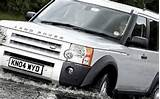 2005 Land Rover Lr3 Suv Front Water