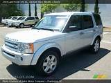 2009 Land Rover Lr3 Se In Zermatt Silver Metallic Click To See Large