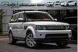 2013 Land Rover Range Rover Sport Hse Lux In North Miami Beach