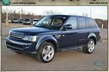 2013 Land Rover Range Rover Sport 4wd 4dr Hse Lux In Dallas Texas