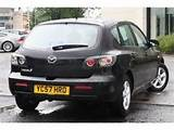 Black Mazda 3 Picture Image 2 Mazda 3 2007 1 6i Ts Photos