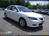 2007 Mazda Mazda3 I Sport Sedan Rally White Beige Photo 3