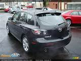 2007 Mazda Mazda3 S Touring Hatchback Black Mica Black Photo 3