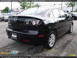 2007 Mazda Mazda3 I Sport Sedan Black Mica Beige Photo 3